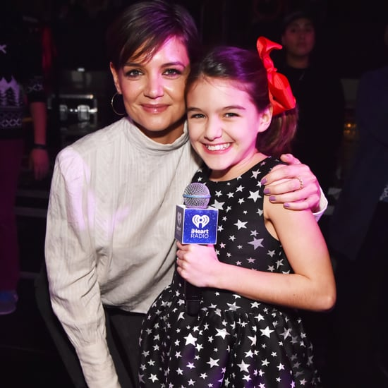 Katie Holmes and Suri Cruise at Jingle Ball NYC Concert 2017