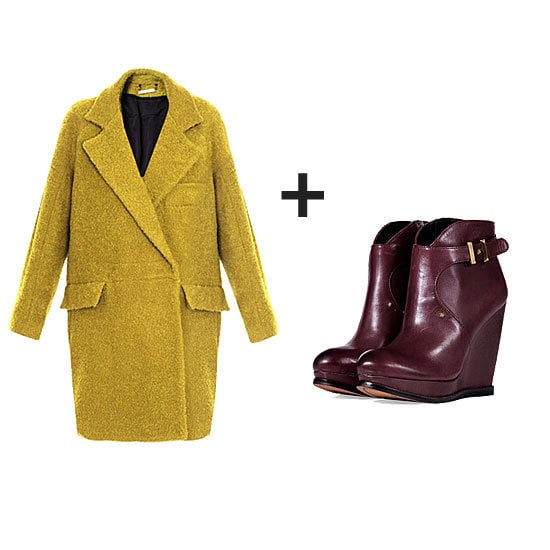 Jewel tones are big this Fall. Don't just wear one — try mixing them together in a current Fall look.