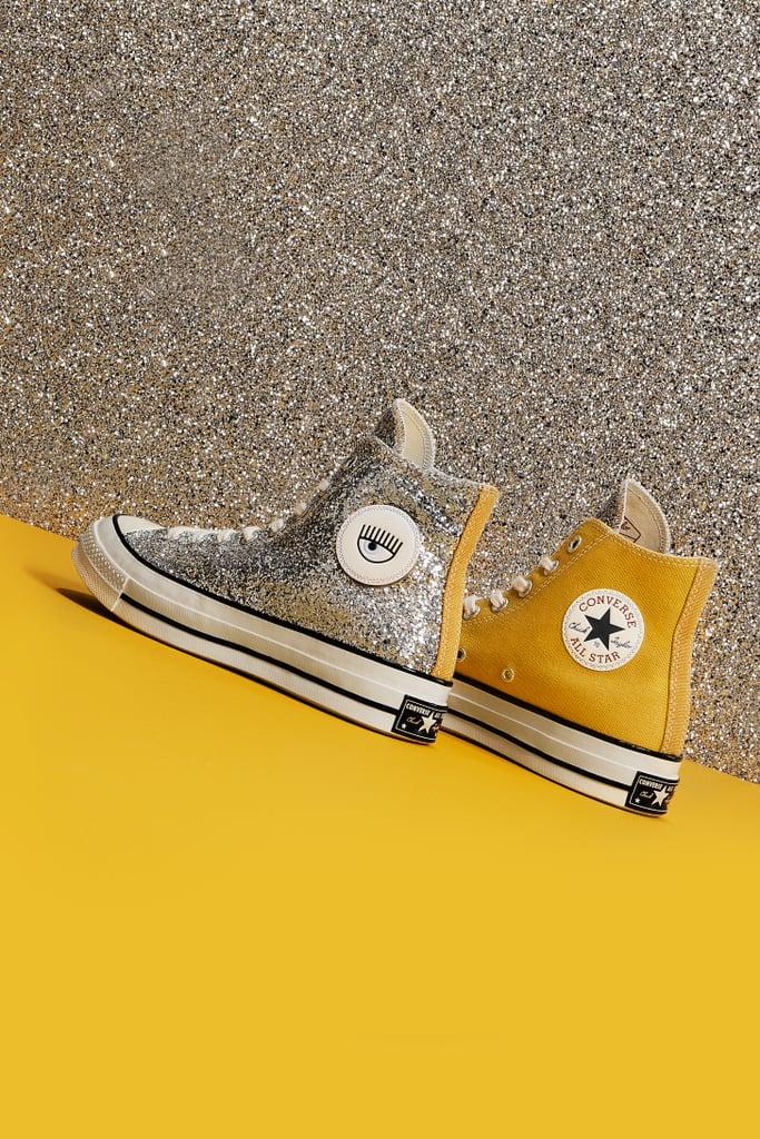 7f3ba7a33cf2 Converse x Chiara Ferragni Glitter Sneaker Collection 2018 ...