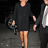 Cameron Diaz looked gorgeous in all black in NYC.