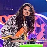 Selena Gomez made a tearful acceptance speech at the Kids' Choice Awards.
