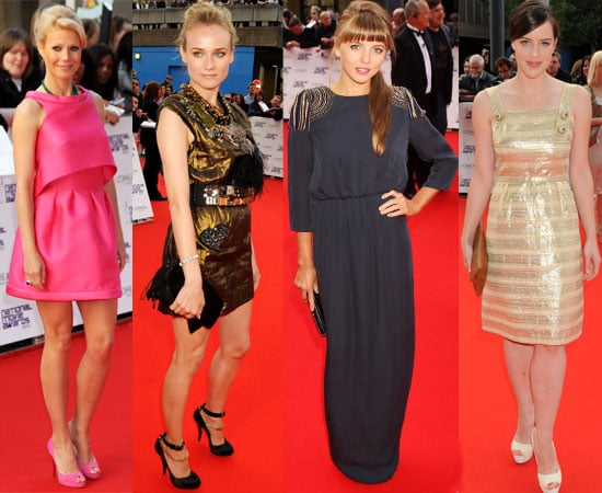 Pictures of Female Celebrities on Red Carpet at 2010 National Movie Awards