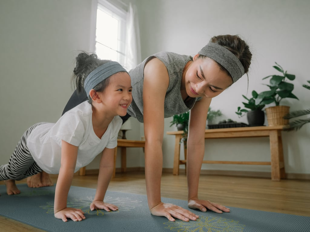 Athleta Mother-Daughter Fitness Sets