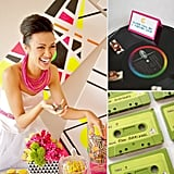 Weddings Through the Decades: Colorful '80s Inspiration  Following the free love of the '70s was the playful culture of the 1980s — a decade filled with neon shades, big hair, and pop music. WIth Nintendo, Pac-Man, the Brat Pack, New Kids on the Block, and the boombox, the '80s were all about bright colors and punchy energy. Hoping to bring some retro fun to your big day, or maybe your bachelorette party? From music-inspired accents to bold, bright decor, here are some unique ideas to spark your creativity.
