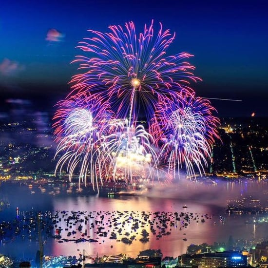 Pictures of Fireworks in America