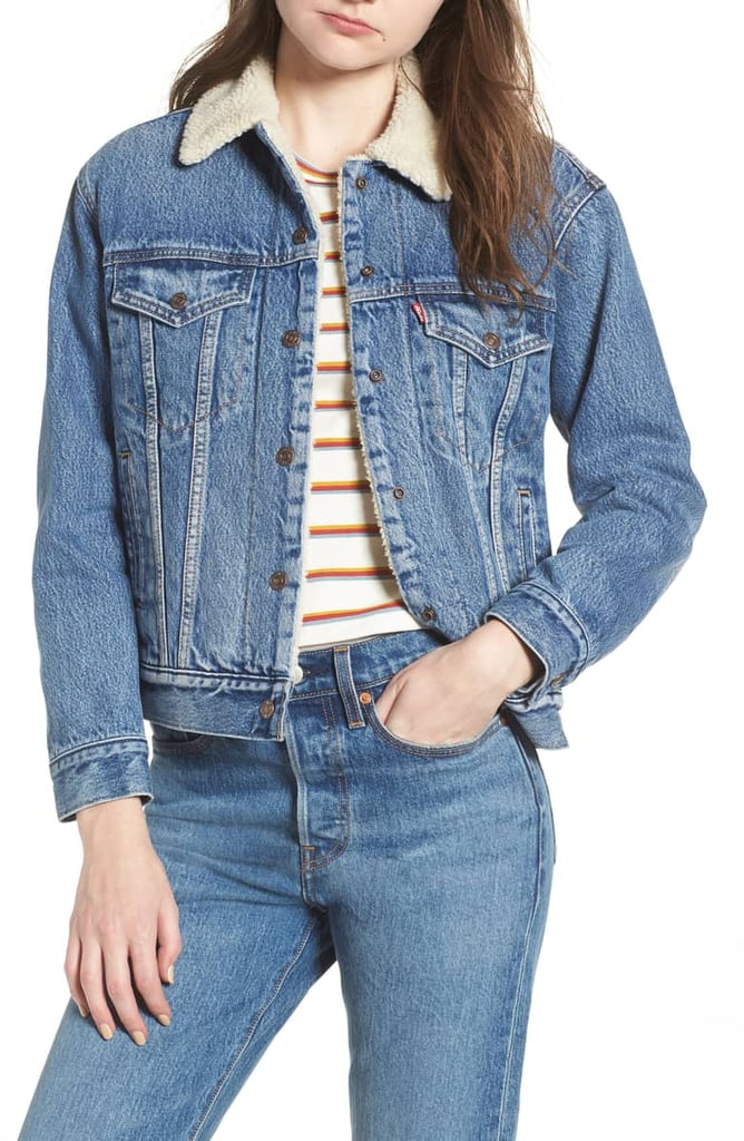 Levi's Ex-Boyfriend Fleece Lined Denim Jacket