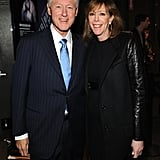 Bill Clinton linked up with Jane Rosenthal at the Bridegroom premiere at the Tribeca Film Festival.