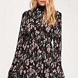 Missguided Frill Sleeve Mini Dress