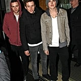 Harry, Danny and Tom From McFly Continue to Promote Minus Dougie