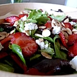 Strawberry, Chèvre, and Almond Salad