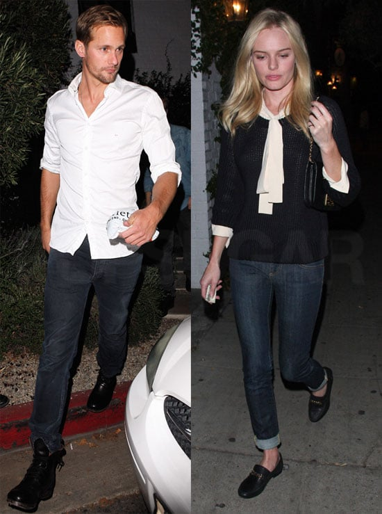 S And B Filters >> Pictures of Kate Bosworth and Alexander Skarsgard in Black ...