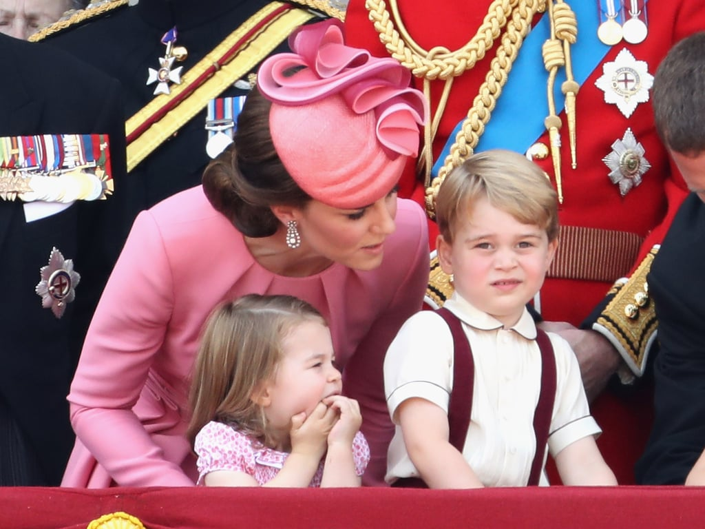 Why Do Kate and William Kneel to Talk to Their Children? | POPSUGAR ...