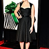 Scarlett Johansson was the picture of pretty at the Zeigfeld Theater in NYC.