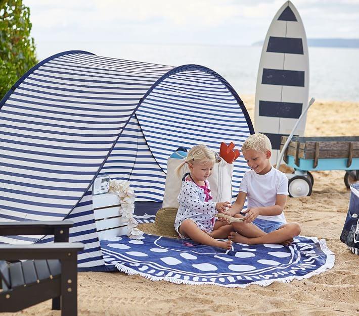 Pottery Barn Kids Family Pop Up Tent | Best Family Beach