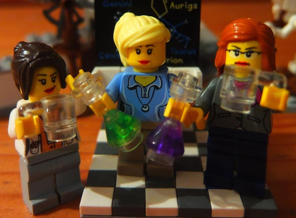 """Work Life Balance. @LegoAcademics enjoy Friday drinks . . . because they know they'll be working through the weekend."""