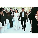 Kim Kardashian and Kanye West at Their May 2014 Wedding