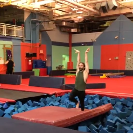 Jonathan Van Ness Gymnastics Videos 2019