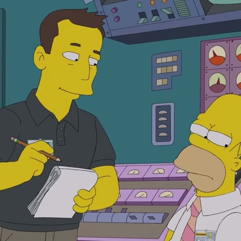 The Simpsons Episode With Elon Musk