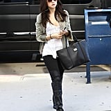 Selena Gomez stepped out in LA.