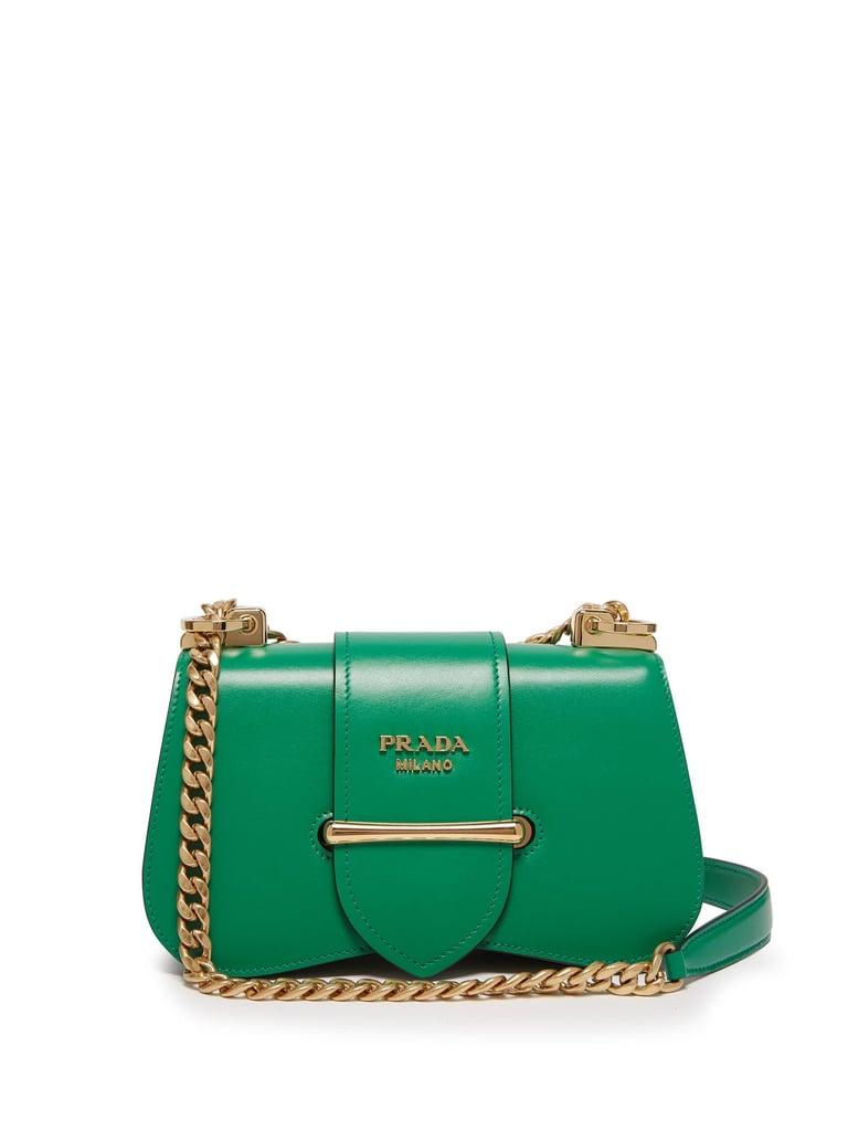 252aaa290f9a Prada Sidonie Leather Cross-Body Bag