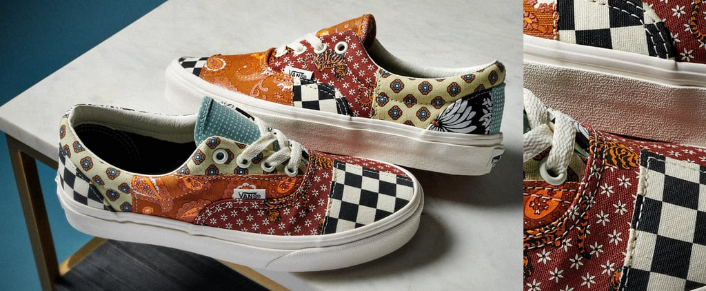 New Vans Tiger Patchwork Sneakers