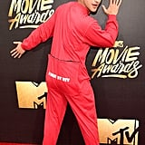 Tyler Posey at the MTV Movie Awards 2016