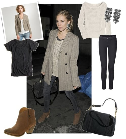 Pictures of Sienna Miller Street Style in London 2011-03-10 11:01:44