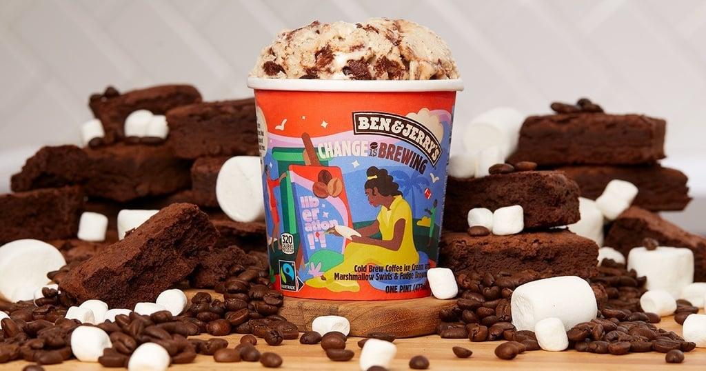Ben & Jerry's New Change Is Brewing Ice Cream