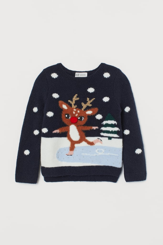 Knit Sweater with Applique