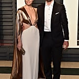 Jessica and Justin made a strikingly gorgeous appearance at Vanity Fair's Oscar afterparty in February 2017.
