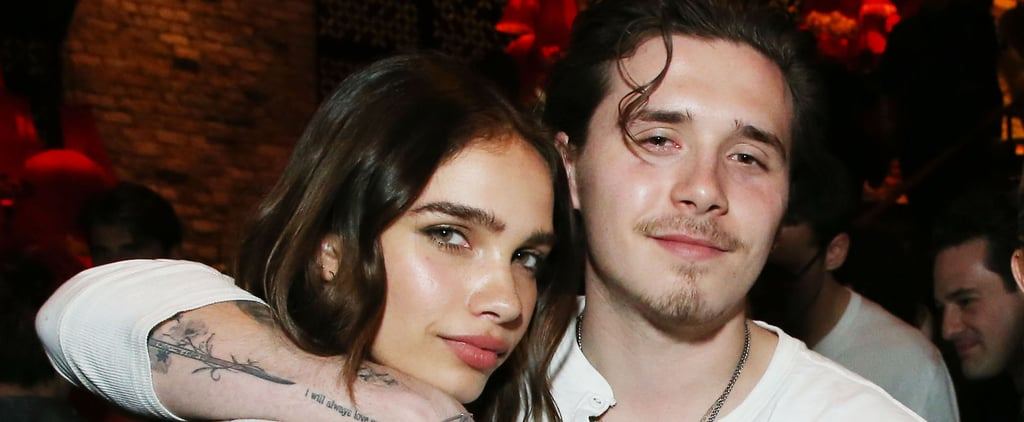Brooklyn Beckham and Hanna Cross in Matching Outfits