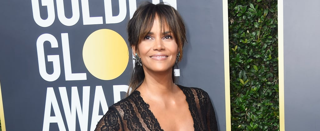 Halle Berry Ab Exercise
