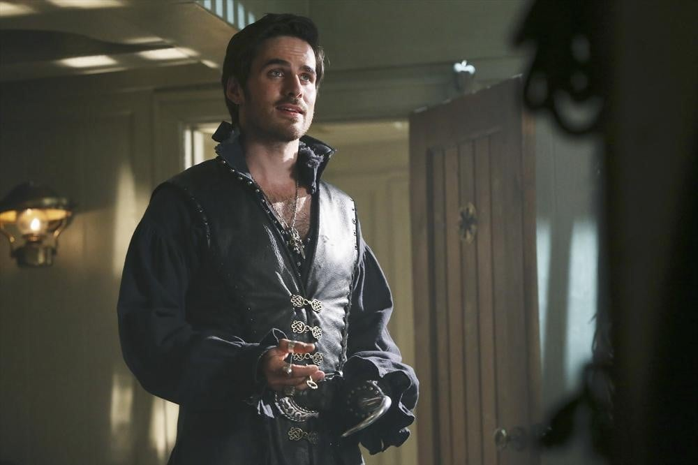 Once Upon a Time Colin O'Donoghue on the season premiere of Once Upon a Time, airing Sept. 29 on ABC.