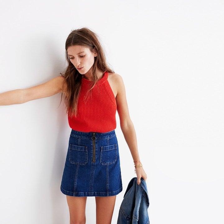 Best Denim Skirts