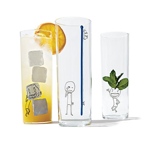 Party Guy Drinking Glasses