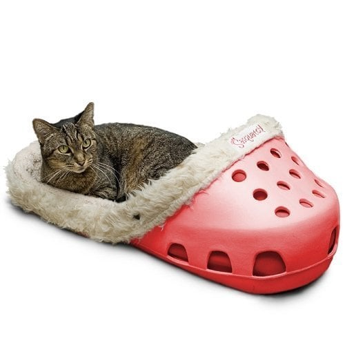 When it comes to getting my pets quirky toys and and accessories, the sky is truly the limit so long as my bank account allows for it. And while I can't wait to order everything from Oh My Disney's brand-new line, there's something about this Sasquatch Pet Bed ($60-$250) — which looks suspiciously like a gigantic Croc — that has my dog's and cats' names written all over it. Although it's sold out on Amazon for now, these eye-catching beds come in four colors and have a machine-washable insert that makes cleaning it a breeze. And FYI: you can sign up for emails to get notified when it come back in stock, so not all is lost! Keep reading to get a look at this hilarious piece of furniture that I have decided I personally can't live without.       Related:                                                                                                           This Interactive Ball Means Your Pet Can Play Fetch When You're Out, and OMG