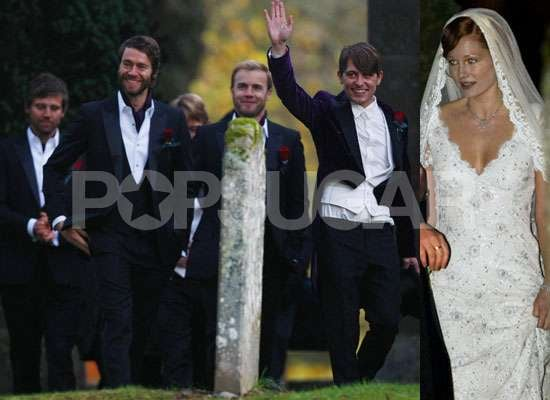 Photos of Mark Owen Wedding