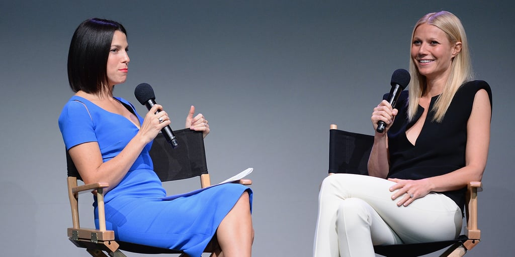 Gwyneth Paltrow at the Apple Store   Photos