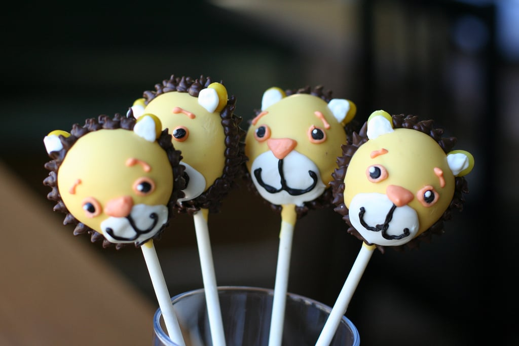 Safari Baby Shower Cake Pops Baby Shower Cake Pops Popsugar Moms