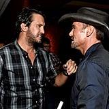 Luke Bryan and Tim McGraw