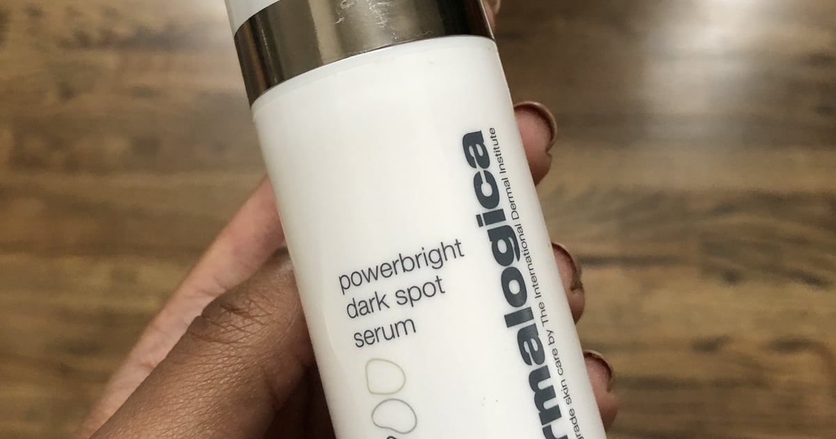 Dermalogica's Latest Serum Faded My Dark Spots SO Quickly, I'm Shook