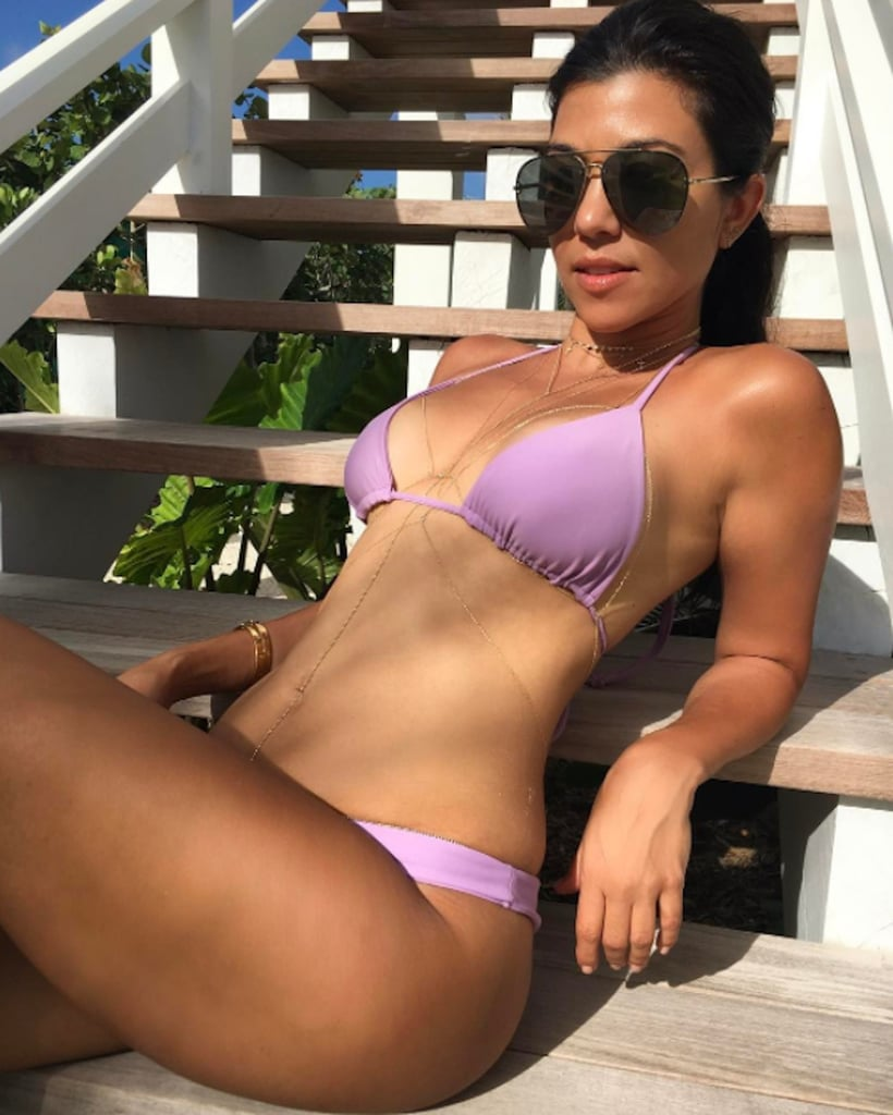 Kourtney Kardashian Swimsuits 2017