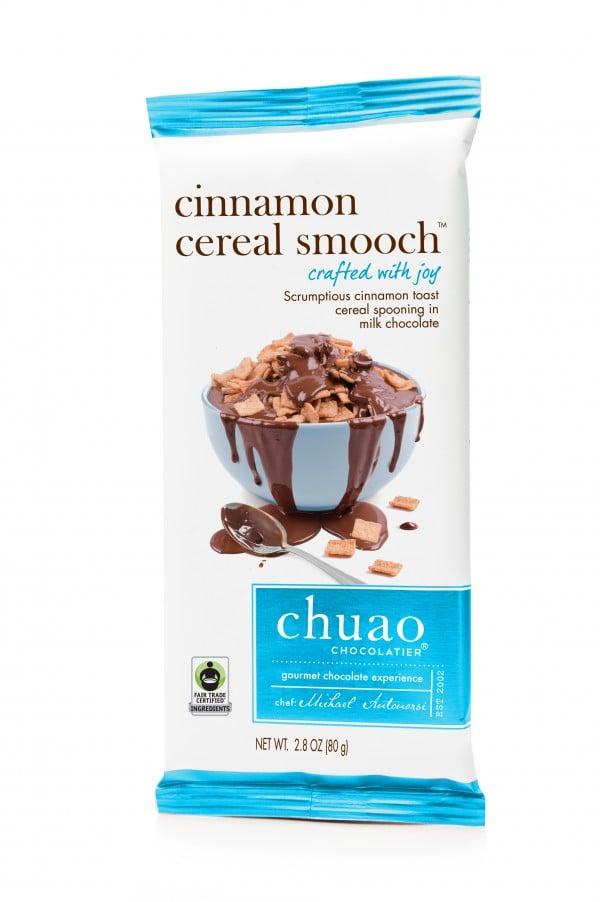 Chuao Chocolatier Cinnamon Cereal Smooch Chocolate Bar
