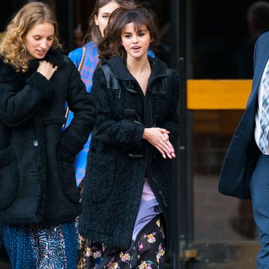 Selena Gomez at Coach Runway Show For Fashion Week Fall 2018