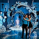 """Rolling in the Deep Adele's 2010 hit """"Rolling in the Deep"""" inspired this undersea theme. If that was my prom theme, you can bet I'd be dressed as Sophia Grace."""