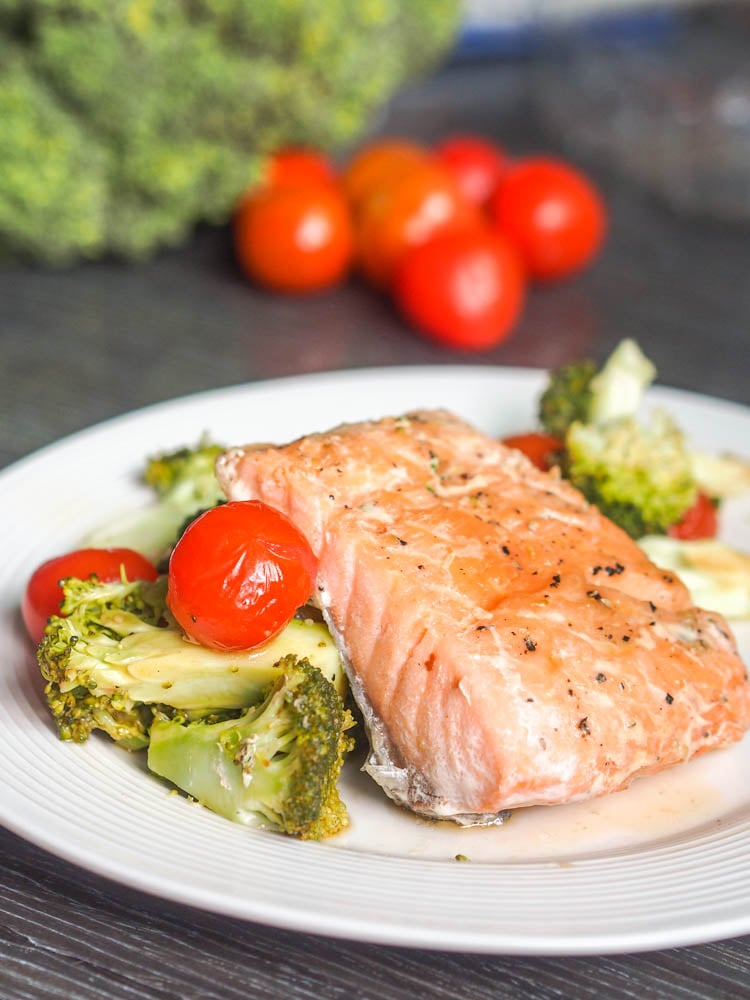 Oven-Poached Salmon