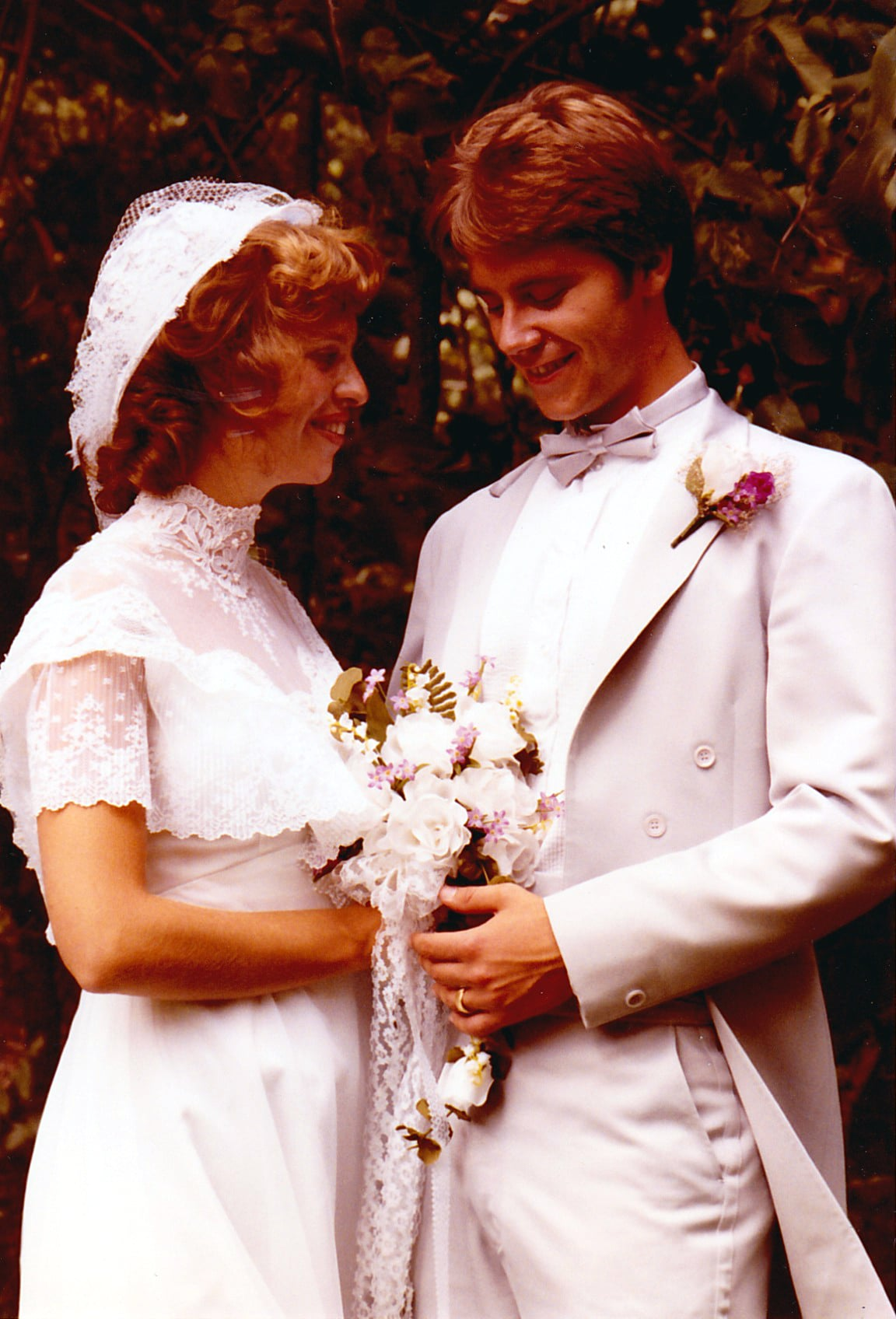 Then: Modest Bridal Gowns
