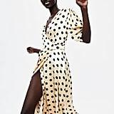 Zara Polka Dot Wrap Dress