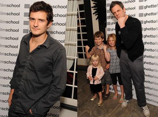 Photos of Orlando Bloom at the Ghetto Film School Fundraiser in LA