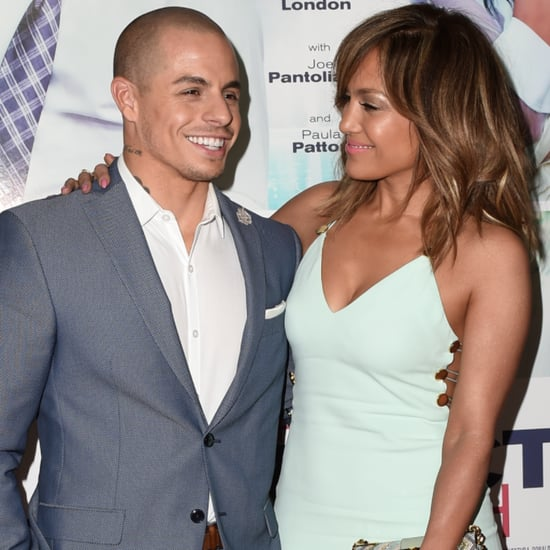 Jennifer Lopez and Casper Smart at The Perfect Match Event